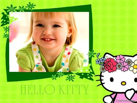 Editar una foto con Hello Kitty