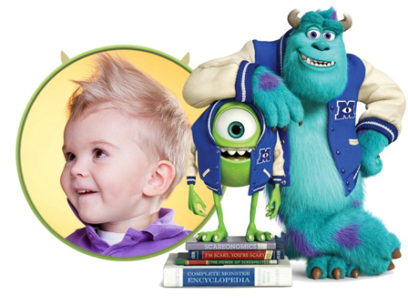 Editar una foto con los personajes de Monsters University